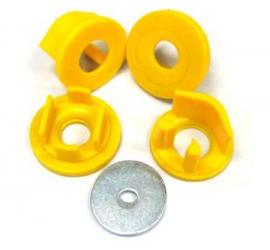 Gommini rigidi differenziale posteriore Whiteline Impreza