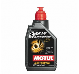 Motul Gear Competition 75W140 12lt Olio differenziale 100% Sintetico